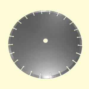 ใบเพชรขนาด 16 นิ้ว หนา 10 มิล ตัดลึก 12 ซม หรือ 4.7 นิ้ว ขนาดตัดร่องที่ได้ 10 มิล (1 ซม)