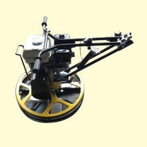 เครื่องขัดมันพื้นคอนกรีต 108STAR 24นิ้ว ขัดมันปูนเล็ก สีเหลือง เบนซิน TOSAKI