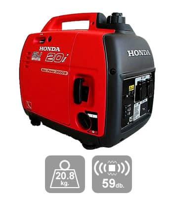 เครื่องปั่นไฟ Honda EU20i เสียงเบา