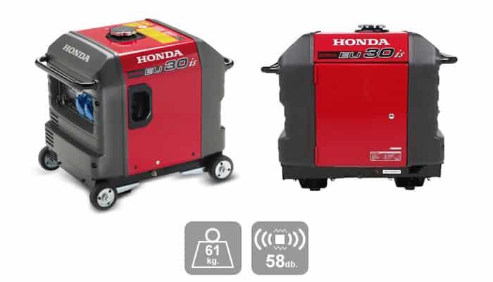 เครื่องปั่นไฟ Honda EU30is