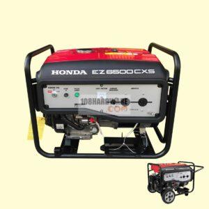 เครื่องปั่นไฟ HONDA EZ6500CXS เครื่องกำเนิดไฟฟ้า มีล้อลากเคลื่อนย้ายสะดวก กำลังไฟสูงสุด 5.5kVA