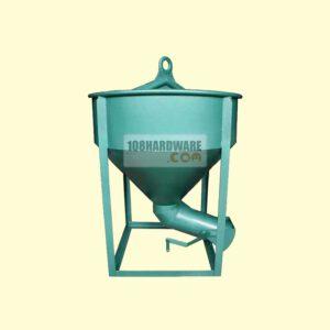 พ็อกเก็ตเทปูน ถังหิ้วปูน ถังเทคอนกรีต เทข้าง 100 ลิตร