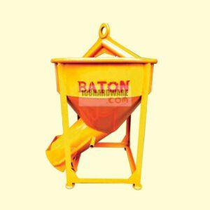 ถังเทคอนกรีต 300 ลิตร เทข้าง BATON ถังเทปูนเทข้าง 300 ลิตร