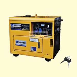 เครื่องปั่นไฟดีเซล รุ่นเก็บเสียง JUPITER JP-D5-SILENT กำลังไฟ 5.5kw.
