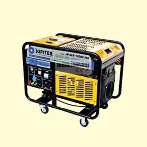 เครื่องปั่นไฟ JUPITER JP GEN 12000 380 ไฟ 220v กำลังไฟ 3.1kw. และไฟ 380v กำลังไฟ 9.5kw.