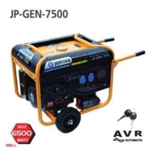 เครื่องปั่นไฟ JUPITER JP GEN 7500 กำลังไฟ 6.5kw.