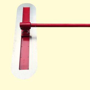 เกรียงขัดมันด้ามยาว 5 เมตร ขนาด120x30cm หัวขยับได้