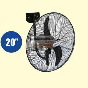 """พัดลมอุตสาหกรรมใบดำ HIGH POWER VENZ 20"""" FB-50"""