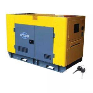 เครื่องกำเนิดไฟฟ้าเครื่องยนต์ดีเซล 2 กระแส JP-D10-380-SILENT 10 KW.